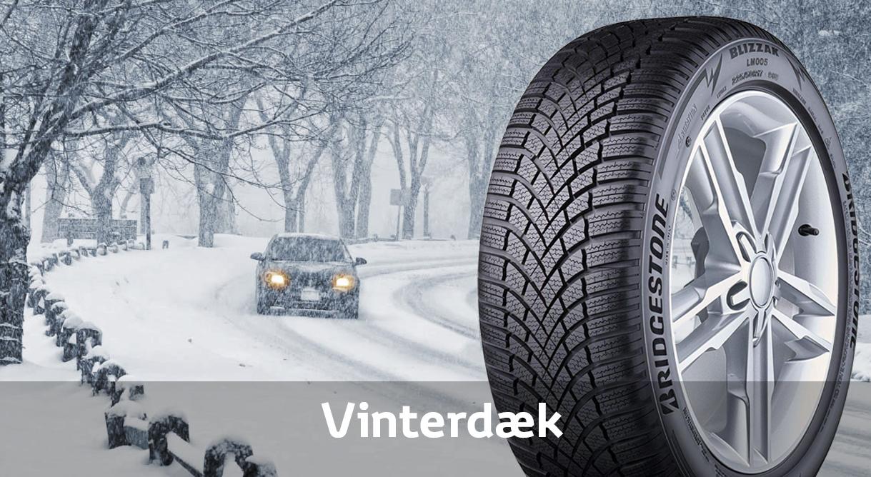 Få vinterdæk til din Toyota fra 5.159,- kr. pr. sæt