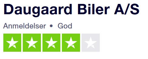 Se hvad kunderne skriver om Daugaard Biler