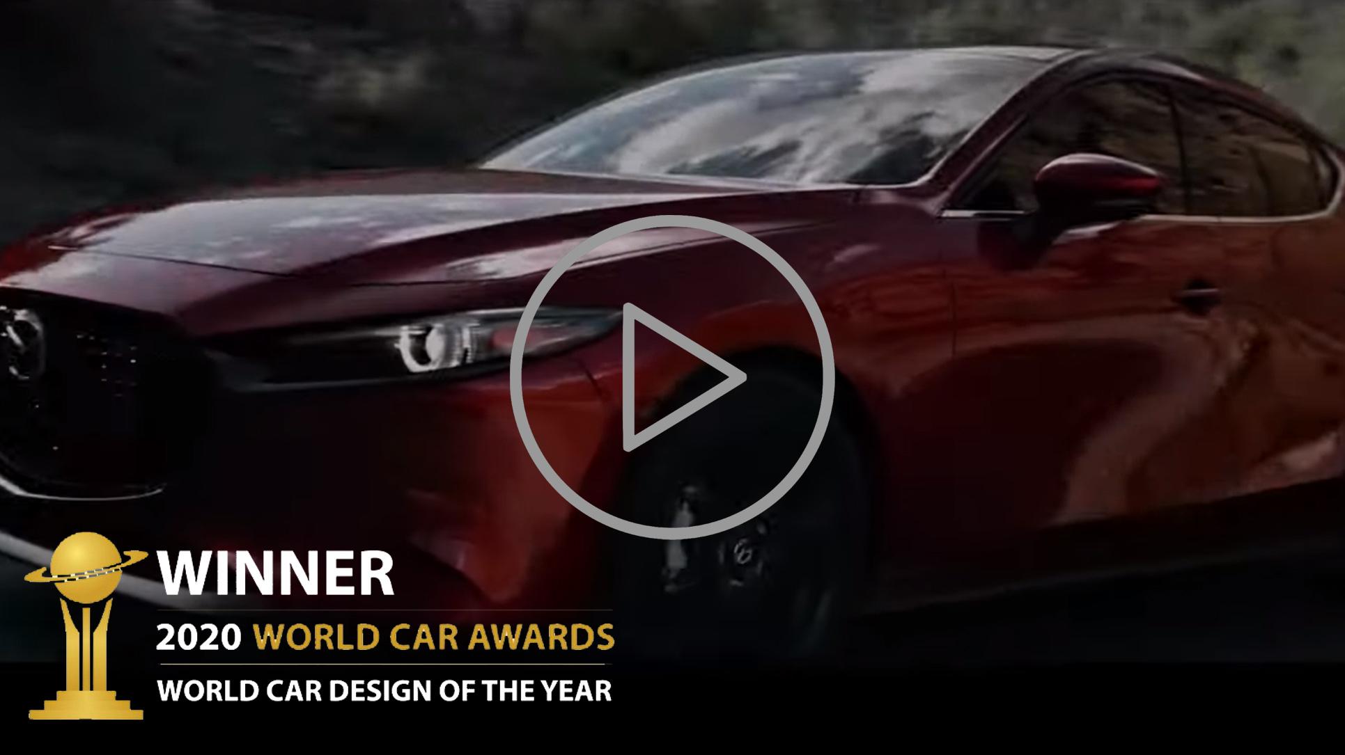 Se de smukke detaljer i vinderen af World Car Awards 2020 den nye Mazda3