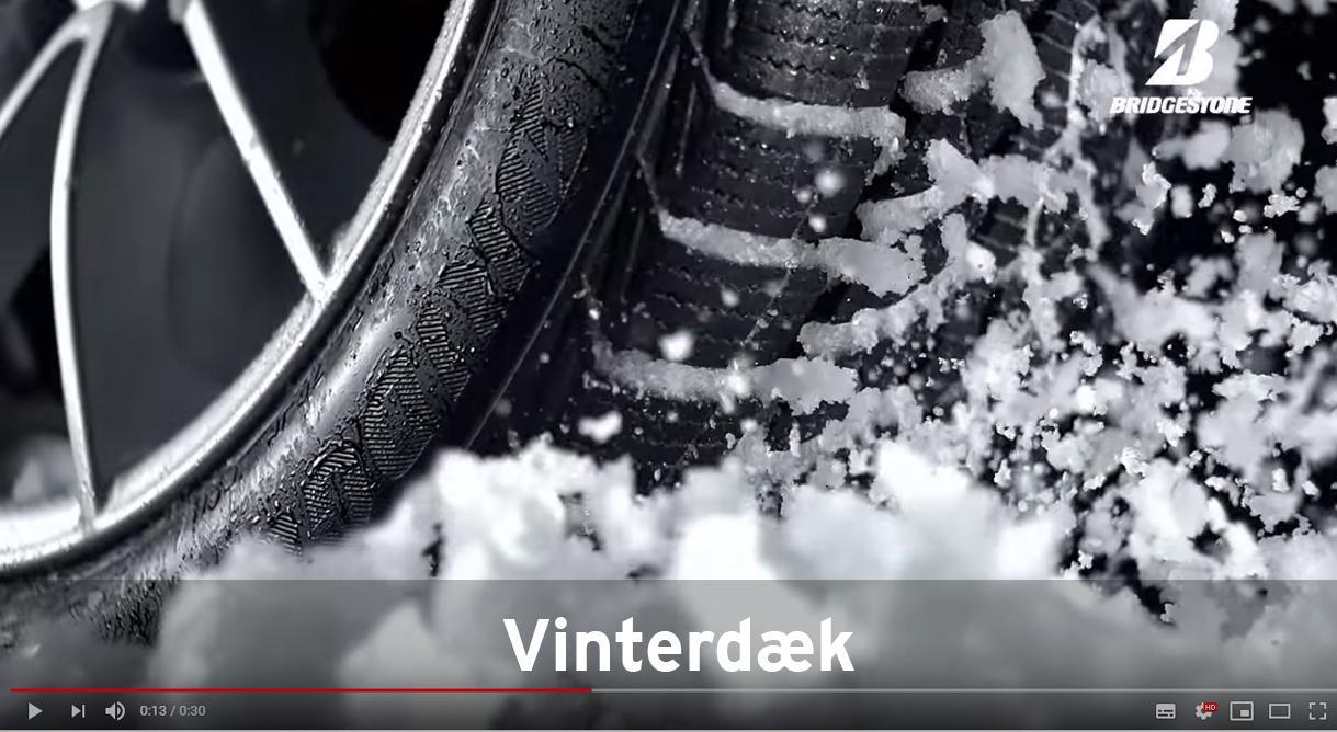 Kom godt gennem vinteren med vinterdæk fra Daugaard Biler