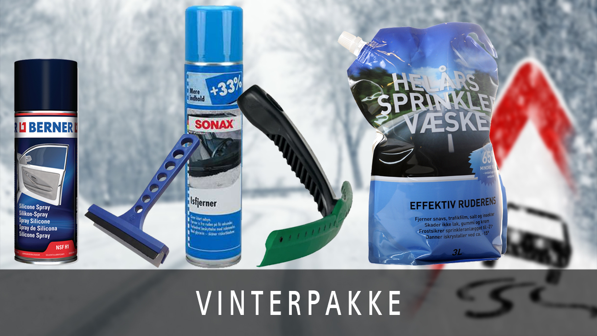 Vær klar til vinteren med vores vinterpakke