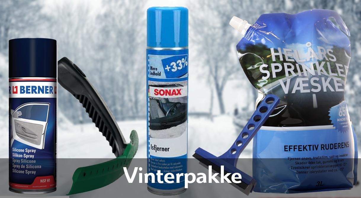 Vær godt forberedt når vintervejret sætter ind.