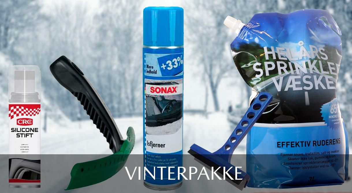 Vær klar til vinteren med de 5 vigtigste vinterartikler